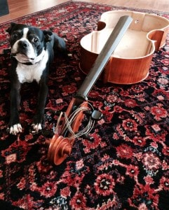 Cooper and topless cello