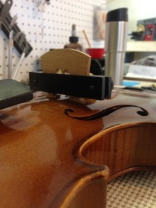 Violin bridge repair