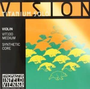 Thomastik Infeld Vision Titanium Solo Violin Strings