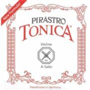 Pirastro Tonica Violin Strings - Steel E