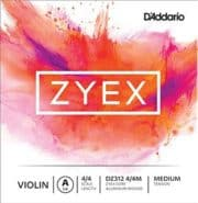 D Addario Zyex Violin Strings