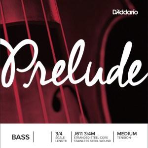 D Addario Prelude Double Bass Strings