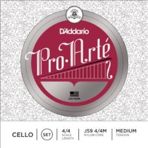D Addario Pro Arte Cello Strings