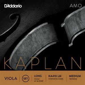 D Addario Kaplan AMO Viola Strings