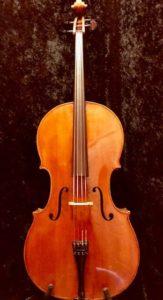 Ferdinand August Vincenz Homolka Cello - Made in Prague 1876
