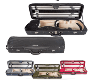 Core Oblong Violin Case CC475 - Green