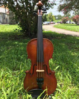 Rudoulf Doetsch Model 701 violin front
