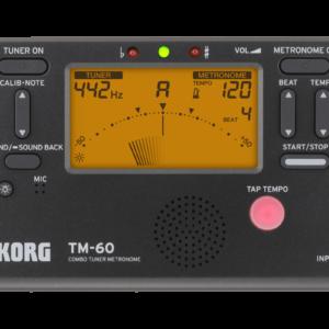 Korg Combo TM60 Tuner Metronome