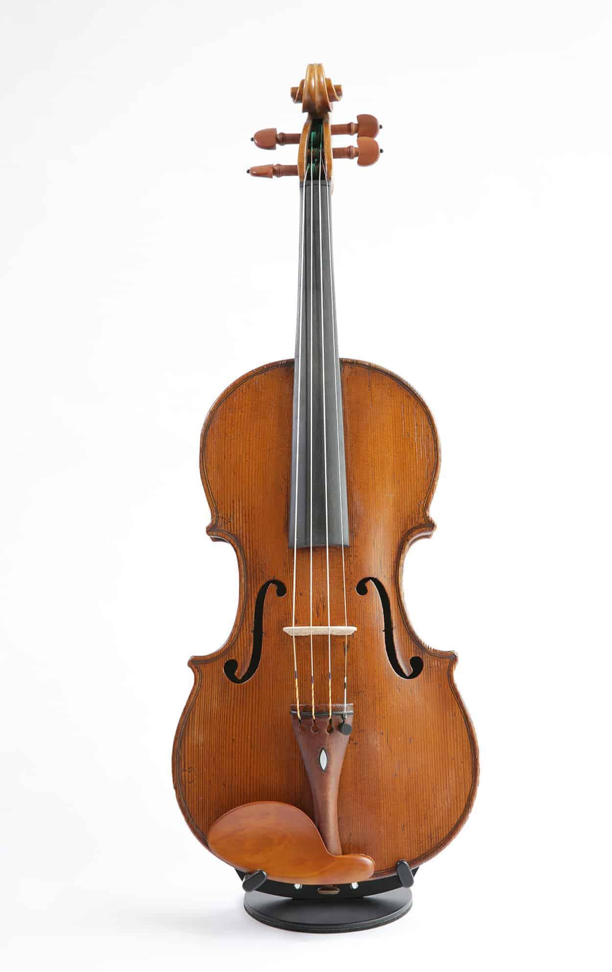 Nicolas Chappuy Violin, 1784 Paris Front
