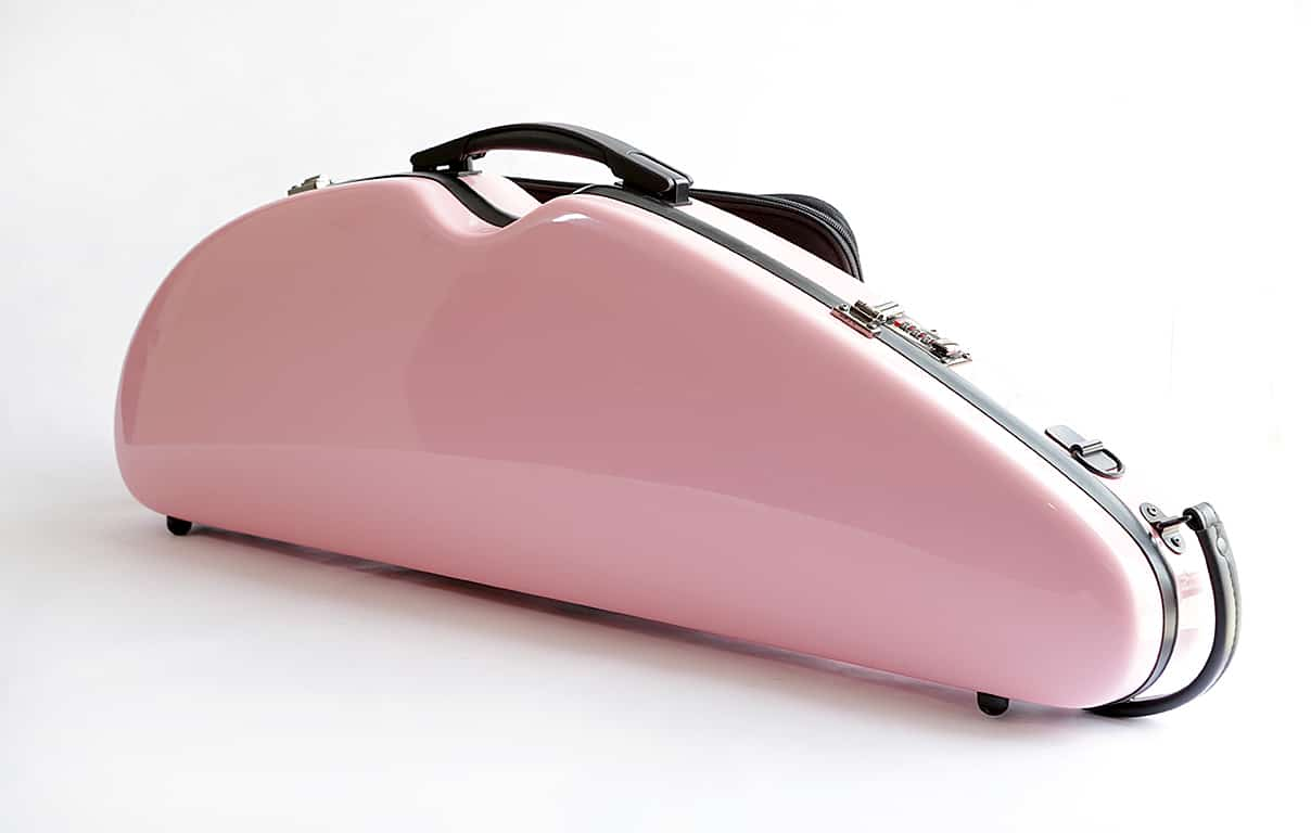 Sculpted D-Shaped Violin Case Model CC433