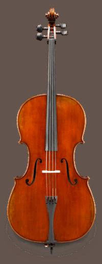 Albert Nebel Cello Front